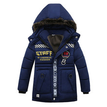 Winter Children Outerwear Baby Kids Jacket coat boys girl Hooded Cotton-padded baby clothes