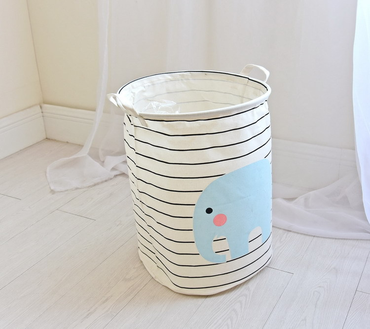 Free shipping Laundry Basket Storage 40*50cm Large Basket For Toy Washing Basket Dirty Clothes Sundries Storage Baskets Box 10