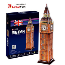 3D jigsaw models Cubic Fun Paper model Big Ben c703h