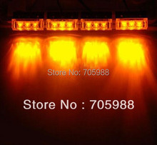 AMBER green white blue red 12V LED strobe lights 12 LED  Emergency Vehicle Boat Truck Car Strobe Lights led lighting