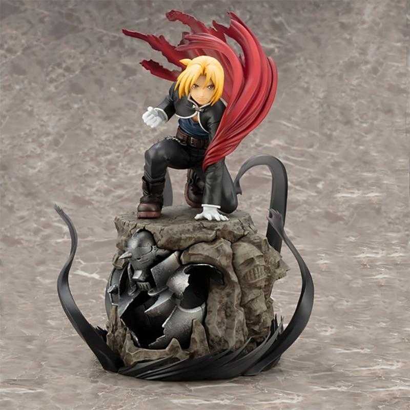 22cm Japanese Anime Fullmetal Alchemist Edward Elric Action Figure PVC Toys Gift Decoration Doll Model<br>