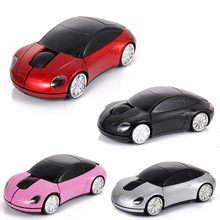 2.4Ghz Wireless Optical Mouse Mice Car Shaped Mouses with USB Receiver for PC Laptop Notebook EM88