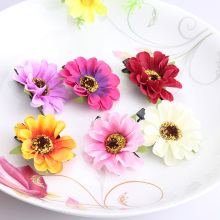 Girl Big Flower Hairpin Side-Knotted Princess Headband Daisy Hair Accessory Bloom Baby Barrette Children Chrysanthemum Hair Clip