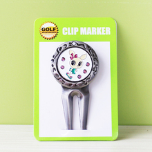 2017 New Brand Free Shipping Metal Golf Divot Tool W Golf Ball Mark Lovely Rabbit  Wholesale Hot