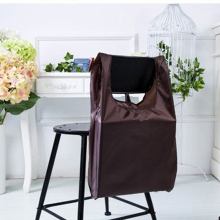 Square Pocket Shopping Bag Candy 12 colors Available Eco-friendly Reusable Folding  Polyester Reusable Folding Shopping Bag