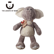 2017 Lovely Stuffed Plush Animals Toys Kawaii Elephant  Dolls THE LEGEND OF BEAR Brand Gifts For Children Tiny Soft  Anime Toy