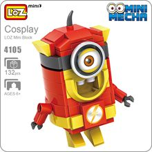 LOZ Blocks Flash Comics Action Figure Anime Super Heroes Toys Kids Gift Mini Figurine POP Moc Building Figures 4105 - ideas Store store