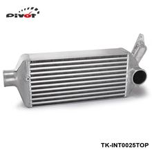PIVOT -T-6061 Full Aluminum Racing Turbo Cooler Turbo Intercooler For 08-14 WRX EJ25 GH GRB GEE TK-INT0025TOP