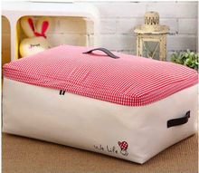 New Oxford Storage Soft Bag w/ Rubber handle Clothes Quilts Sheets Pillows  Storage Organizer Bag Container Box Foldable