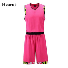High-end Custom Blank Basketball Jerseys Men Professional Training Game Team Uniforms High Quality Breathable Sports Clothes