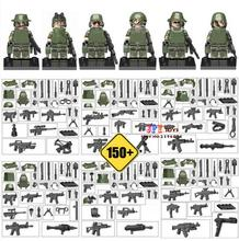 Military Series  team Police guns awp Weapons Pack Army   Brick Arms Weapon Blocks Best Children kids Toys
