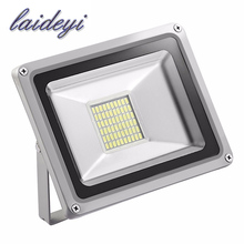 LAIDEYI 1Xpcs outside led flood lights 30W 220VAC architectural led flood lights SMD IP65 waterproof led security flood light(China)