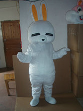 2017 Cute Rascal rabbit mascot Adult size Rascal rabbit mascot costume Rascal rabbit costume Free shipping(China)