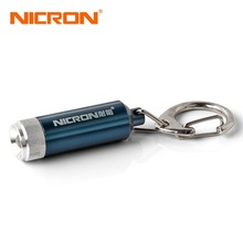 NICRON Micro Led Keychain Light Portable cree Mini LED Flashlight for home Torch lamp waterproof 0.25W Pocket Camping Light