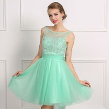 Dressy New Star Real 2017 Sexy A-line Short Homecoming Dresses Sleeveless Sparkly Beaded Backless Girls Prom Cocktail Dresses