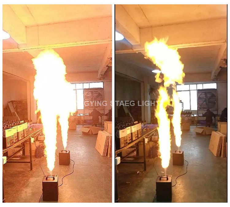 two head fire machine (2)
