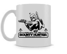 Boba Fett Bounty Hunter Mug Star Wars coffee mugs ceramic Tea mugen home decal kitchen friend gifts(China)