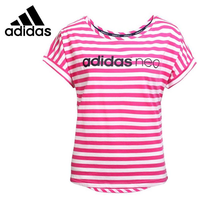 Original New Arrival  Adidas NEO Label W ST LG OSIZE T Womens T-shirts short sleeve Sportswear <br><br>Aliexpress
