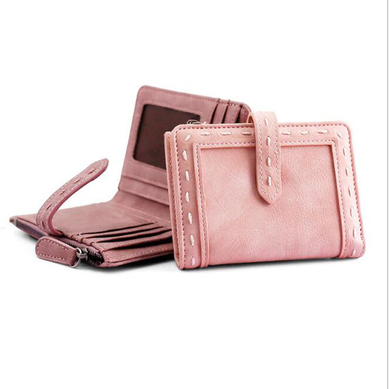 Fashion Women Short Wallet Lady Cute Mini Wallets Brand Womens Purse Small Portable Female Card Holder Hot<br><br>Aliexpress
