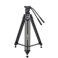 Zomei VT666 Tripode Professional Heavy Duty Stable Tripod Stativ With 360 Degree Panoramic Fluid Head For Camera DV Camcorder(China)
