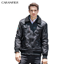 CARANFIER Autumn Men Outerwear Jacket Europe United States men's jacket High Quality Casual Coats Male Bomber Jacket Men S-2XL(China)
