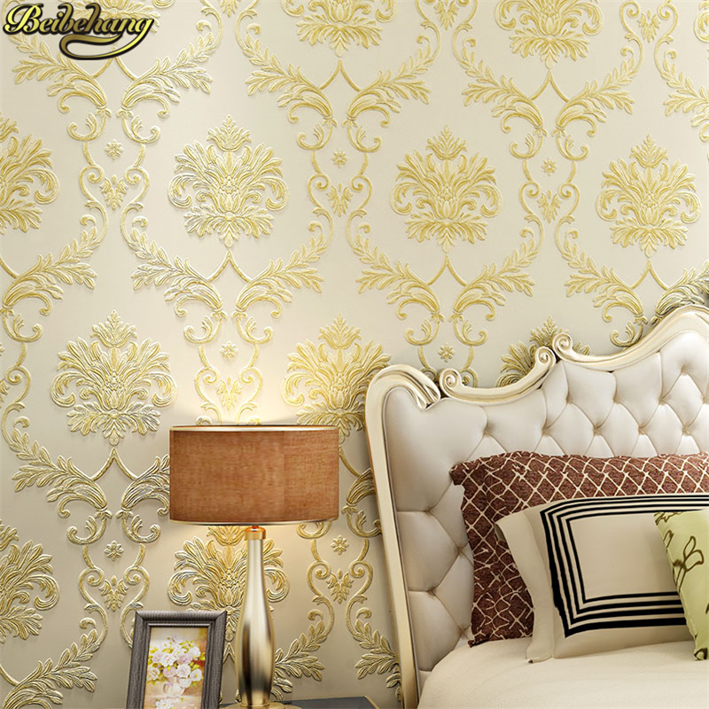 beibehang papel de parede 3D European Home Decoration wallpaper rolls sofa living room background wall paper roll contact-paper<br>