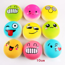 Lovely Soft Squeeze Slow Rising Emoji Bread Stretchy Fun Kids Toys Gift Stress Reliever Decor Squishy Phone Charm Straps P0.11(China)
