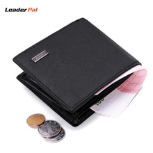 2017 RFID Blocking Genuine Leather Wallets Mens Thin Wallet Small Short Male Clutch Wallet Purse High Quality carteira masculina(China)