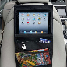 Top Selling Universal Back Car Seat Organizer Holder Auto Car Seat Organizer Holder Multi-Pocket Tablet Wallet Case Bag(China)