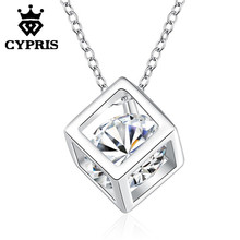 WHOLESALE N750 hot brand new fashion popular chain necklace jewelry  18inch wholesale retail crystal cz stone