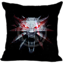 Top The Witcher 3 Wild Hunt Wolves Games Style throw Pillowcase Custom and Twin SidesCushion Cover(China)