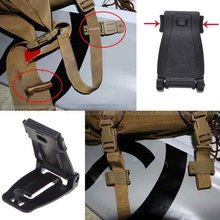 5 Pcs Molle Strap Backpack Bag Webbing Connecting Buckle Clip EDC Outdoor Tools Free Shipping