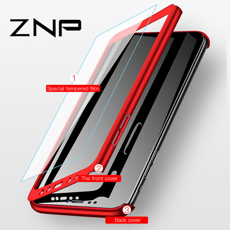 ZNP Shockproof 360 Degree Cases For Samsung Galaxy Note 9 8 S9 S8 S10 Plus Case Phone Cover For Samsung S7 Edge S9 S8 S10E Case (China)