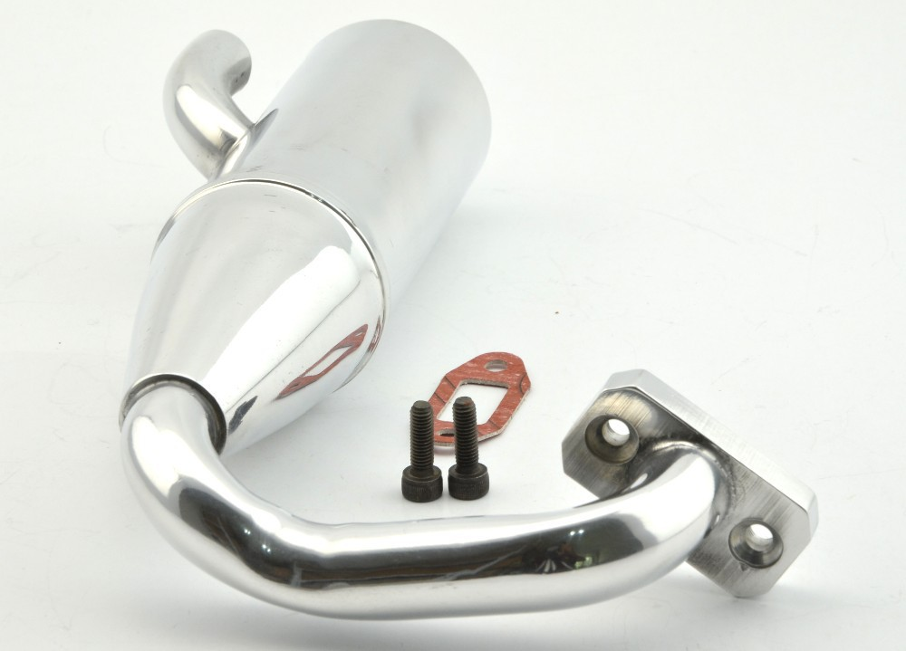 Aluminum Side Exhaust/tuned Pipe 15001 HSP HPI Baja SS FG 1:5 Monster Truck<br>