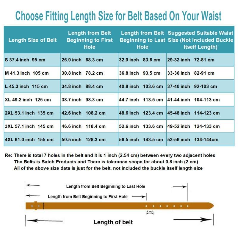 Belt Length Choice 1-014