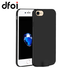DFOI I8 Qi Wireless Charger Receiver Case Back Cover Ultra Thin Wireless Charging Cases Mobile Phone For iPhone 6 6s 7(China)