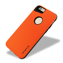 For Apple iPhone 7 Case Shockproof Protect Hybrid Hard Rubber Impact Armor Orange Phone Cases For iPhone 6 6S Plus 7 7 Plus(China)