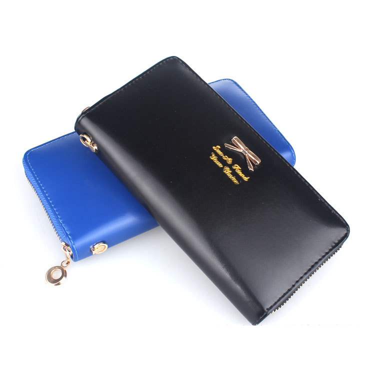 2016 Fashion Various Color PU Leather Wallet Women High Quality Soft Long Purse Fashion Female Wallets Card Holder<br><br>Aliexpress