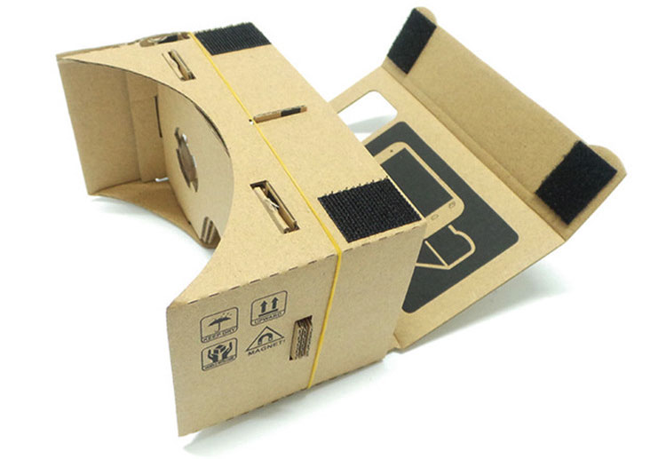 Hot Sale Virtual Reality Glasses Google Cardboard Glasses 3D Glasses DIY VR Box Movies for iPhone 5 6 7 SmartPhones VR Headset_01