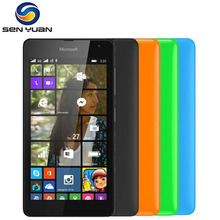 "Original Nokia Lumia 535 Cell Phones Quad Core Dual SIM unlocked Mobile Phone 5.0"" Touch Screen 5MP Camera 3G Window cellphone(China)"
