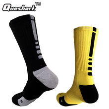 Brand Outdoor Sport New Elite Cycling Socks Men Long Coolmax Basketball Soccer Socks Male Compression Socks Men Athletic Socks(China)