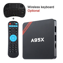 NEXBOX A95X S905X Smart Android TV Box Android 6.0 Quad core 64Bit Max 2GB+16GB 2.4GHz WiFi 4K HD Media Player BT PK X96