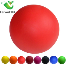 Massage Ball 100% Rubber Hockey Lacrosse Ball 64mm Trigger Point Relaxation Self Massage(China)