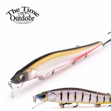 New Fishing Bait Floating Jerkbait Minnow Bait Fishing Lure Hard Lure isca artificial Bait Plastic Wobble Lure pesca 110mm/14g(China)
