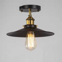 Vintage Ceiling Lamps American Style Copper Lamps Ceiling Light Personality Simple Country Balcony Lamp Home Lighting Corridor(China)