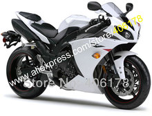 Hot Sales,For Yamaha YZF-r1 fairing 2009-2011 r1 09 10 11 injection mold bodywork white abs fairing kits (Injection molding)(China)