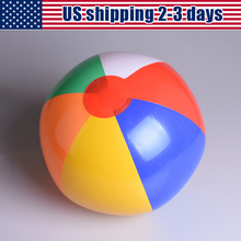 US Shipping Inflatable 23cm Ball Balloons Water Game Balloons Beach Sport Ball Kids Toy Swimming Pool Party Supplies 2-3 Days(China)