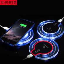 Buy Universal Crystal Qi Wireless Charger Wireless Charging Pad + Qi Wireless Charging Receiver iPhone Android samsung htc lg for $6.64 in AliExpress store