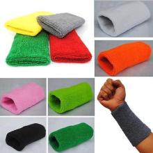 Sports Cotton Basketball Long Wristband Elbow Guard Pad Sweat Band Sports Wrist Support