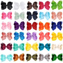 Buy 30 Pcs/lot 6 Inch Girls Hairbow Children Hair Clips Kids Newborn Hairpins Girls Hair Bows Clips Hair Accessories FJ1001 for $18.20 in AliExpress store